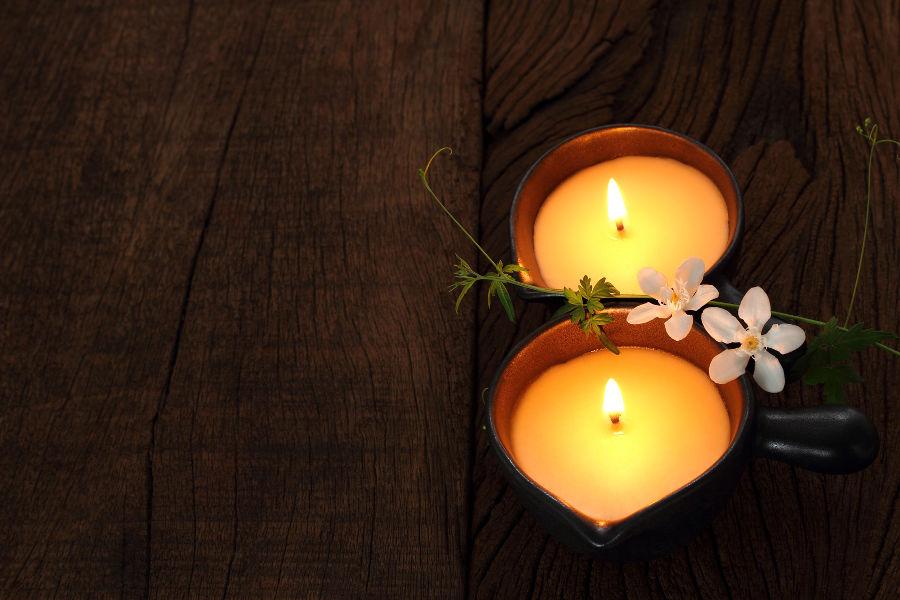 massage à la bougie chaude ayurvédique landes ondres