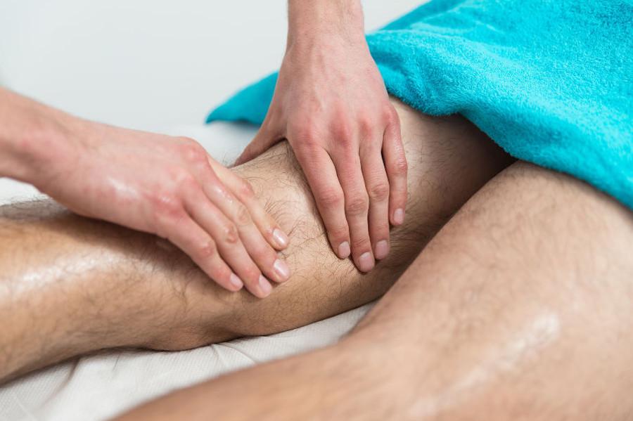 massage des jambes Ondres vague de bien être drainage lymphatique